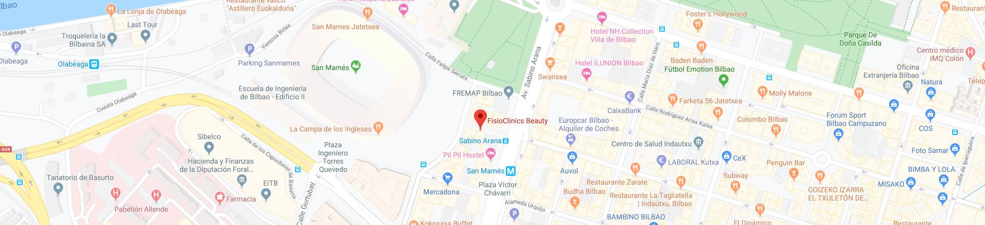 Estética FisioClinics Bilbao